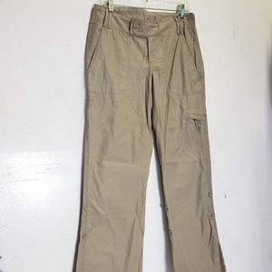 the north face cotton hiking pants Sz 6